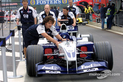 Williams-BMW being pushed