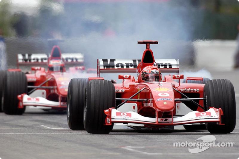 2002 Belgian GP, Ferrari F2002