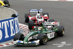 Pedro de la Rosa and Allan McNish
