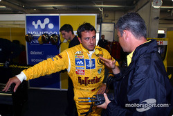 Christian Abt y el ingeniero de carrera, Dirk Spohr