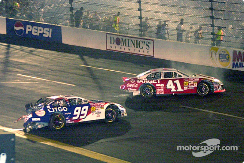Jeff Burton y Jimmy Spencer, en igualdad de condiciones