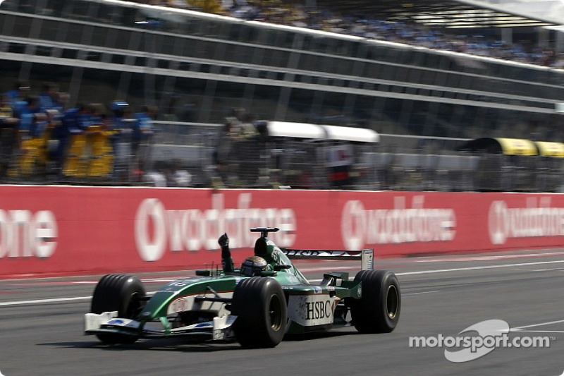 Third place Eddie Irvine