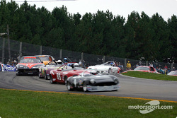 The start: Craig Chima leads the field