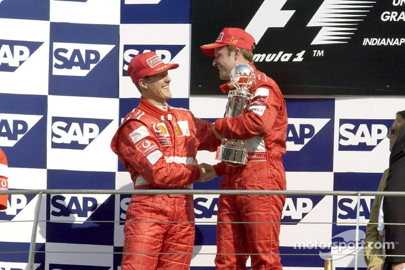 2002 год. Рубенс Баррикелло, Ferrari