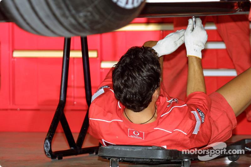 Miembro del equipo Ferrari