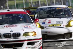 Alegra Motorsports BMW M3 and Perspective Racing Porsche 911 GT3-RS