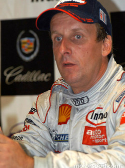 Press conference: LMP 900 and overall winner Frank Biela