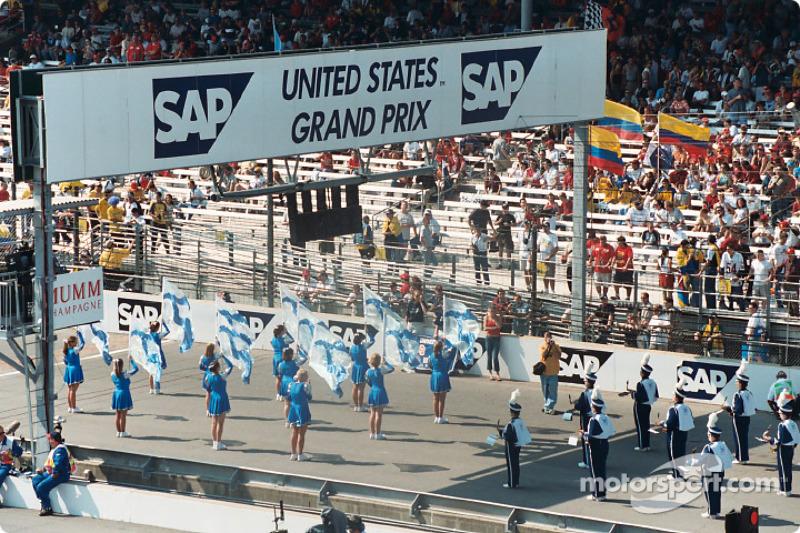 Pre race activities