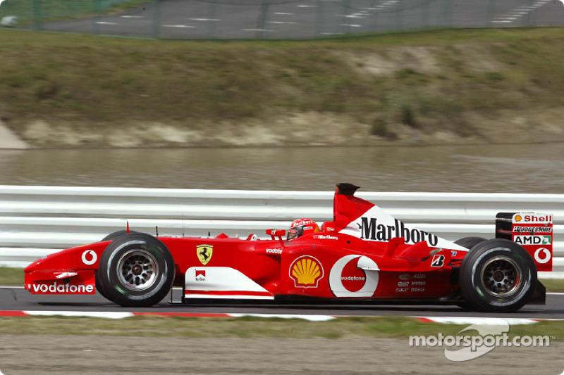 2002: Michael Schumacher (Ferrari F2002)