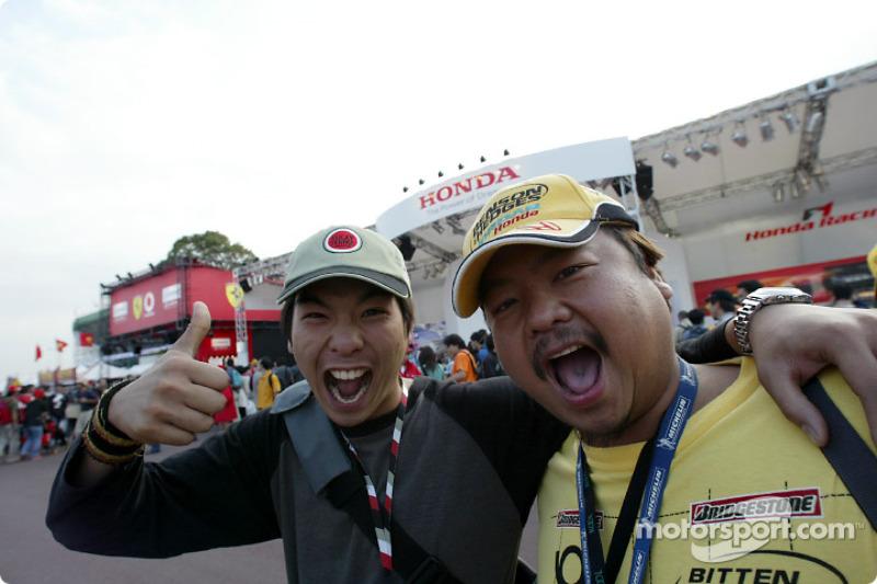 Aficionados japoneses