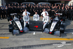 Family picture for Team McLaren