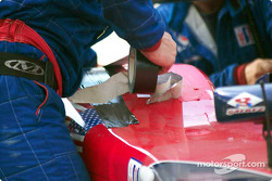 Working on the Panoz