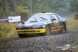 Dave Hintz, Rick Hintz -Olympia, WA/El Cajon, CA, '90 Mazda RX-7
