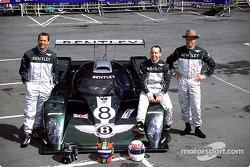 Team Bentley: Butch Leitzinger, Andy Wallace and Eric Van De Poele