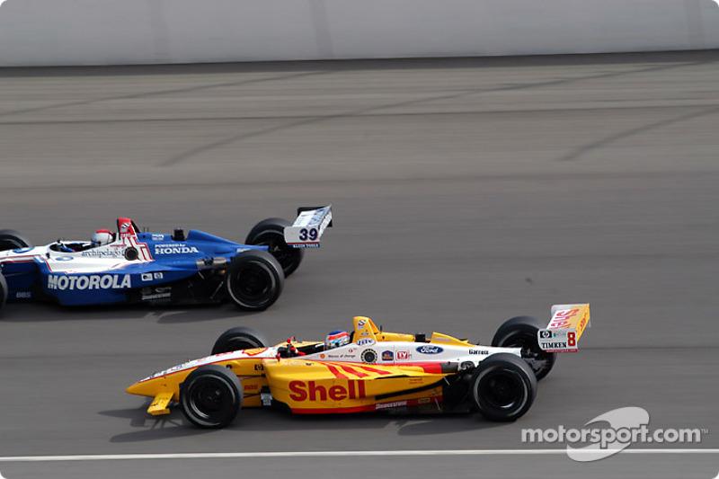 Michael Andretti et Jimmy Vasser