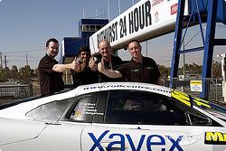 Rollcentre Racing Ltd drivers: Martin Short, Mark Pashley, Charles Lamb and Dilantha Malagamuwa