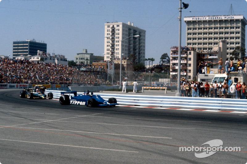 Jean-Pierre Jarier et Mario Andretti