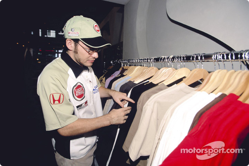 Jacques Villeneuve looks at the new streetwear collection