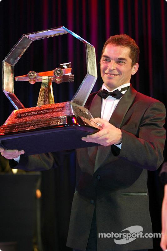 Formula One Promotional Trophy, Laszlo Palik, President of Hungaroring