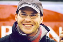 Un feliz Jacques Villeneuve