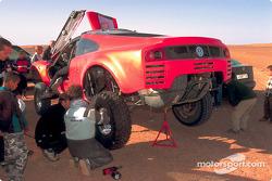 Volkswagen Tarek test drive, December 2002