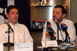 Jos Verstappen y Paul Stoddart