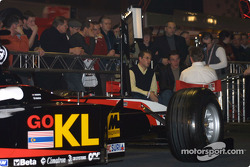 Minardi on display