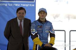 Patrick Faure and Jarno Trulli