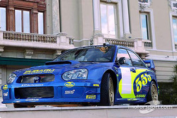 The Subaru Impreza WRC 2003 launched in Monte Carlo
