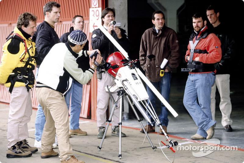 Film crew gets ready
