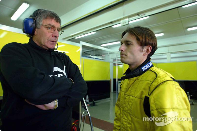 Gary Anderson and Giancarlo Fisichella