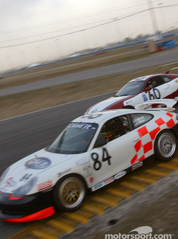 #84 Case-It Racing Porsche GT3 Cup: Lynn Wilson, Adam Merzon, David Murry