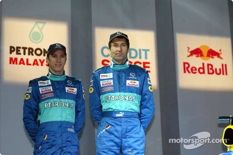 Nick Heidfeld and Heinz-Harald Frentzen