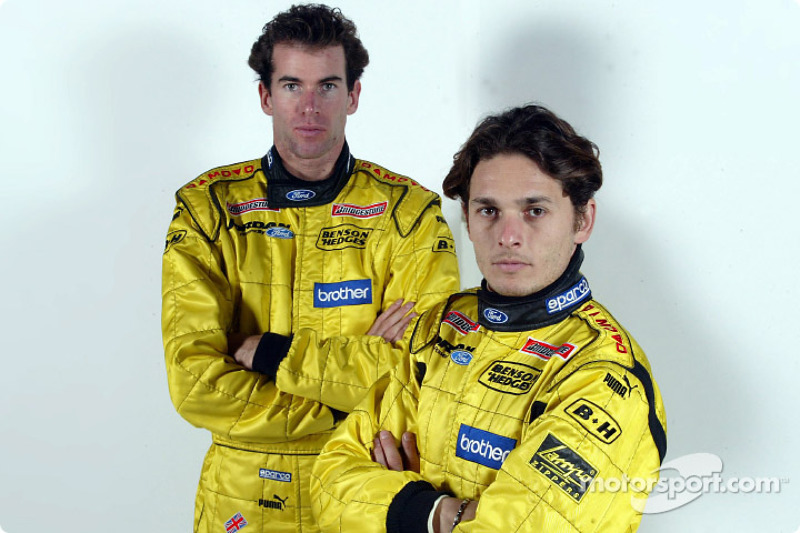 Ralph Firman and Giancarlo Fisichella