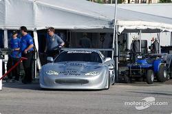 Rocketsports Racing paddock area