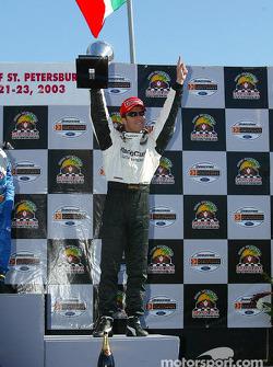 The podium: Bruno Junqueira