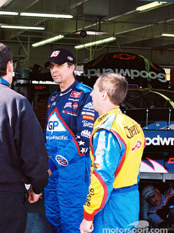 Kyle Petty and John Andretti