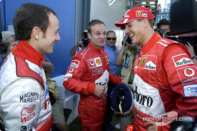 2003 Avustralya GP, Ferrari F2002