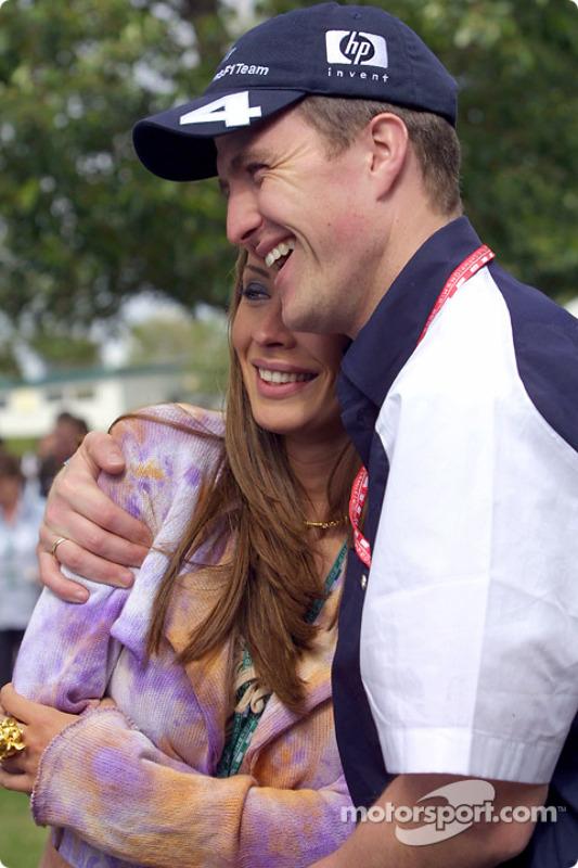 Ralf Schumacher and girlfriend Cora