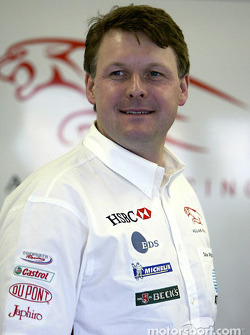 Dave Pitchford of Jaguar Racing