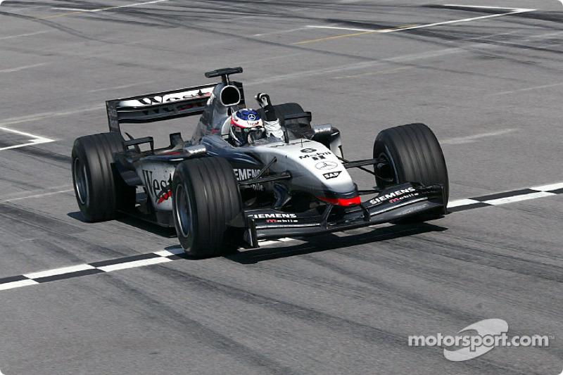 2003 : Kimi Räikkönen, McLaren-Mercedes MP4-17D