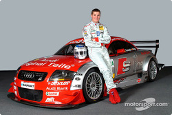 Martin Tomczyk with the Abt-Audi TT-R of the S line Audi Junior Team