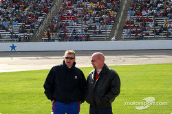 Jeff Burton and Todd Bodine