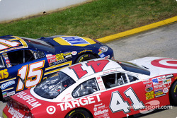 Michael Waltrip and Casey Mears