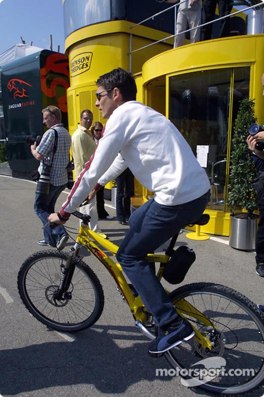 Brazilian GP winner Giancarlo Fisichella