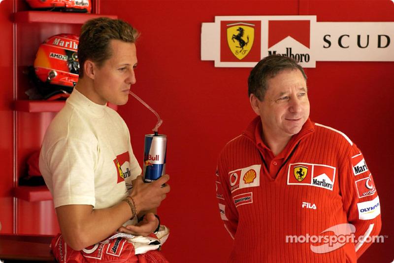 2003 San Marino GP, Ferrari F2002
