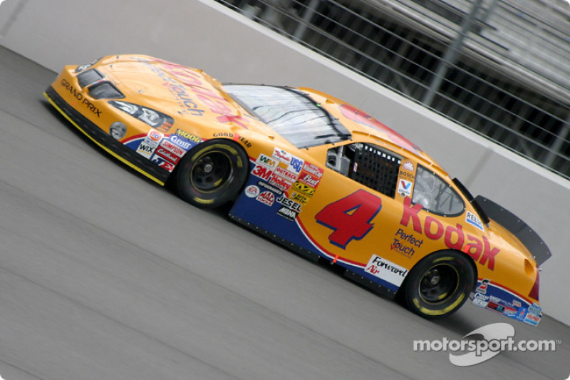 Mike skinner at fontana for What motor does nascar use