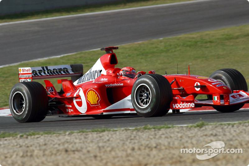 #53 GP d'Espagne 2003 (Ferrari F2003-GA)