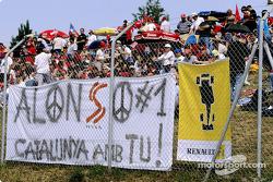 Fernando Alonso's fans