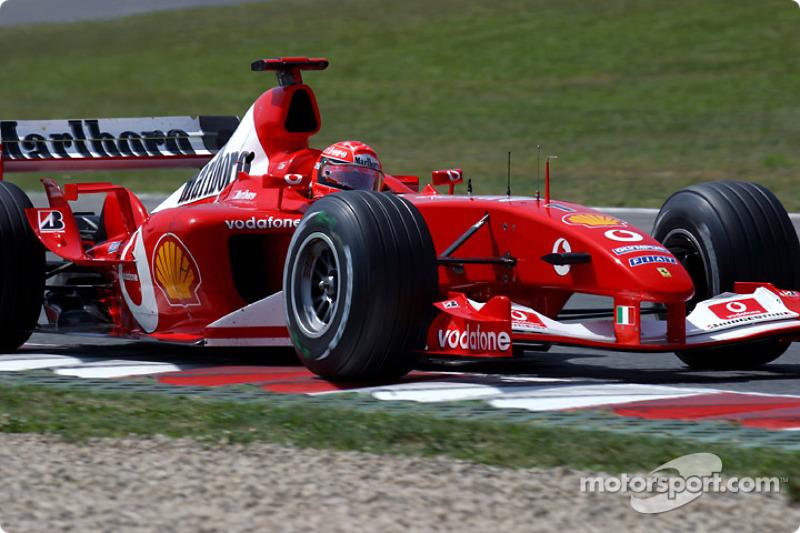 Siete poles, otro récord de Michael Schumacher